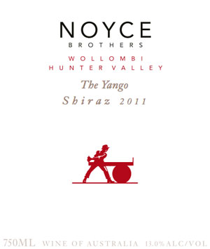 2011 Noyce Brothers The Yango Shiraz