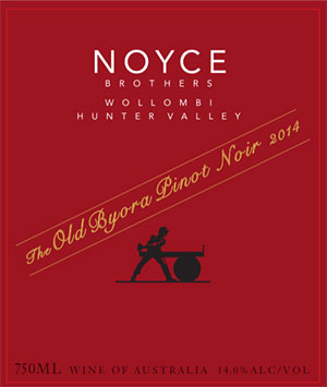 2014 Noyce Brothers The Old Byora Pinot Noir
