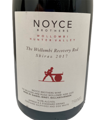 2017 Wollombi Recovery Red